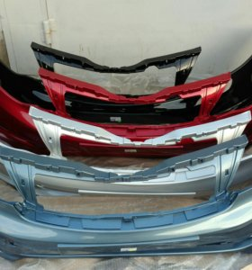 Бампер передний Kia Rio/ Киа Рио рестайлинг 15г