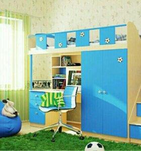 !СРОЧНО! Детская мебель/кровать-чердак