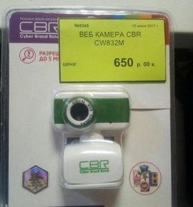 Веб камера cbr cw832m