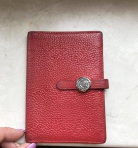 Обложка для паспорта/водительского Hermes