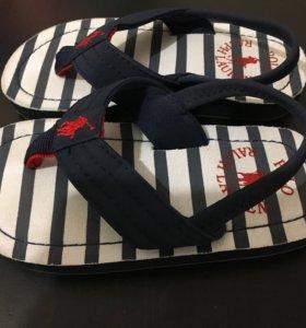 Пляжные сандали Ralph Lauren (оригинал)