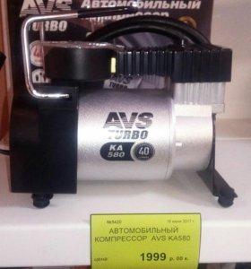 Автомобильный компрессор avs ka 580