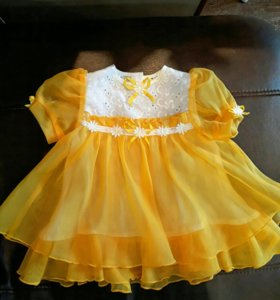Платье 74 рост