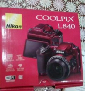 Цифровой фотоаппарат Nikon Coolpix L 840