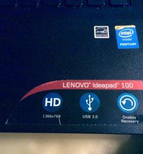 Продам ноутбук Lenovo ideapad 100-15 iby.