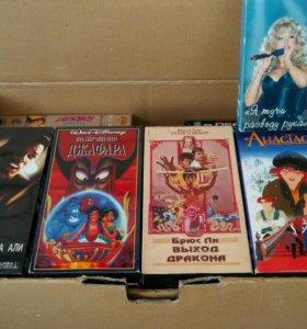Видео и DVD касеты