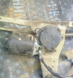 Мотор дворников передний с механизмом ваз 2109