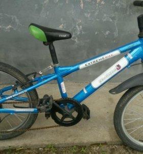 Велосипед детский б/у многоскоростной в хорошем со