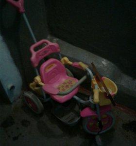 Велосипед детский для девочек.