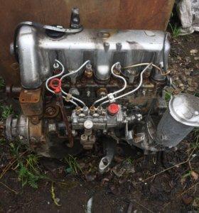 Двигатель Мерседес 123