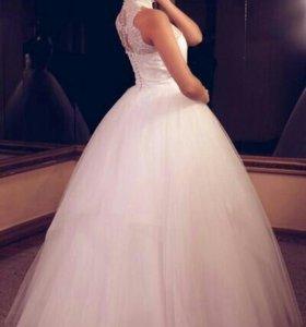 Свадебное платье (торг!)