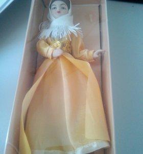 Куклы народных костюмах 15 осетинском девичьем