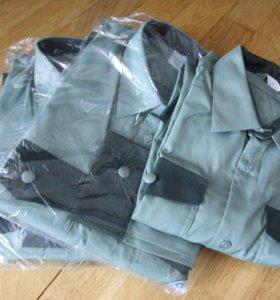 Рубашка для охраны длинные и корот. рукава. Новые