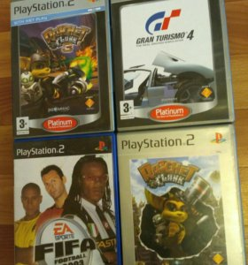 PS2 диски