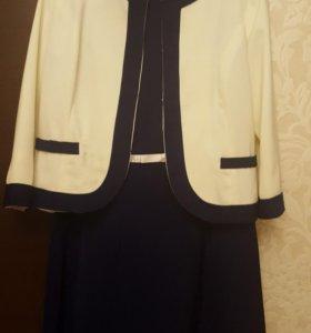Костюм 2ка: платье и жакет