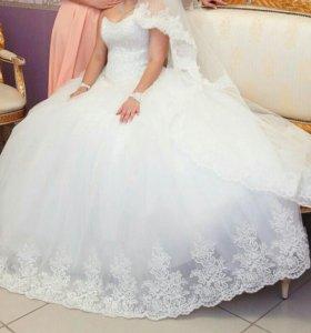 СРОЧНО!Шикарное свадебное платье