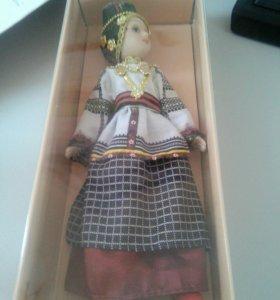Куклы в народных костюмах 10 празднич. воронежско
