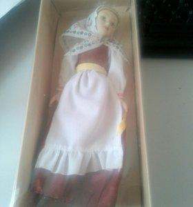 Куклы в народных костюмах 14 вологодский летний
