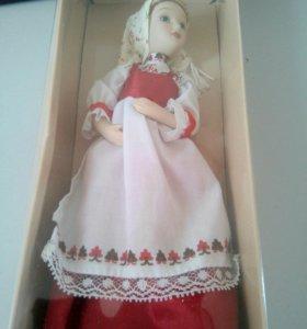 Кукла народный костюм 18 пермской повседневный