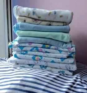 Пелёнки пакетом + одеялко