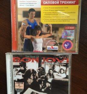 Лицензиров СD Аэробика и силовой тренинг, Bon Jovi