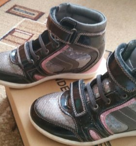Ботинки zenden active для девочки осень-весна 34р.