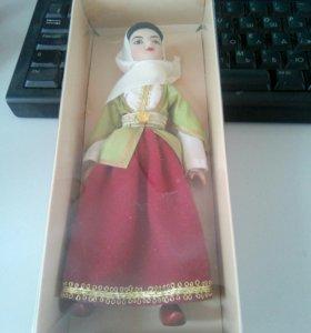 Куклы народных костюмах 32 азербайджан девичьий
