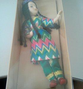 Куклы в национальных костюмах 12 узбекский летний