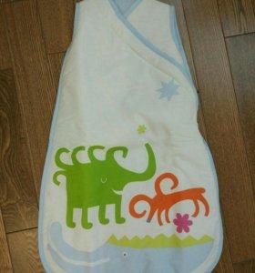НОВЫЙ конверт/мешок для сна Ikea на молнии