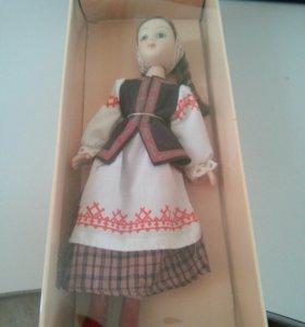 Куклы национальных костюмах 8 минской летний