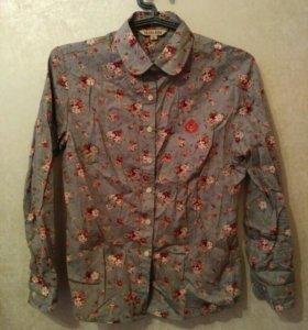 Две блузки-рубашки новые размер 46