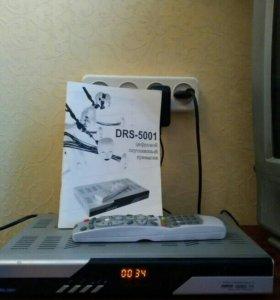 Цифровой спутниковый приемник Триколор DRS-5001