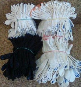 Перчатки ( рабочие).