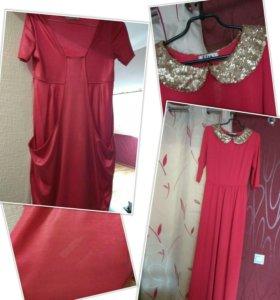 Платье,костюм,кофточка, размер L👍