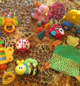 Развивающие игрушки(моторика,ванна,музыка)