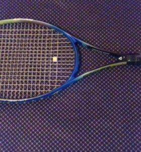 Теннисная ракетка фишер б/у