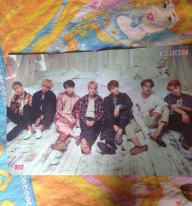 Плакат BTS