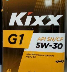 Моторное масло синтетика KIXX 5W-30
