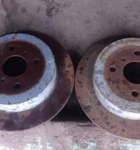 Задние тормозные диски на лифан солано