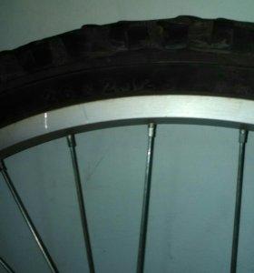 Колесо переднее в сборе с дисковым тормозом