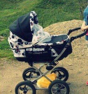 """Детская коляска """"Лаура""""2в1 ,возможен торг."""