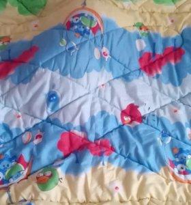 Одеяло ватное стёганое