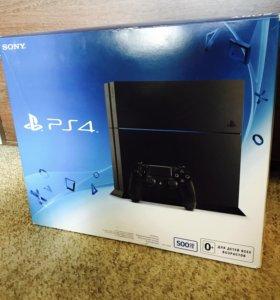 Игровая консоль Sony PlayStation 4 с камерой