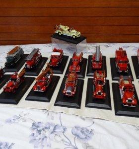 Коллекция машин пожарной техники Signature 1:43