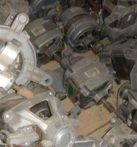 Двигатель, электромотор на стиральную машину