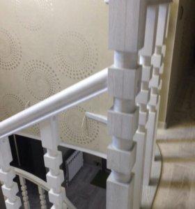 Бетонные лестницы.