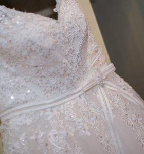 Свадебное платье (второе в подарок)