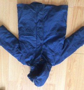 Меховая куртка на мальчика
