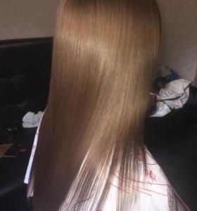 Бисипластия волос