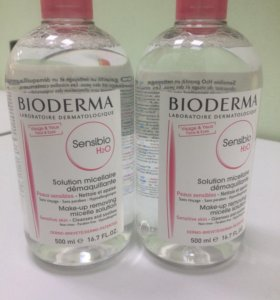 Мицелярная вода Биодерма Сенсибио H2O